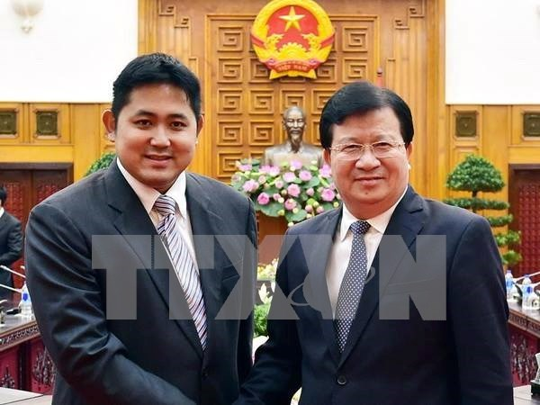 郑廷勇副总理:越南为各国投资商在越投资创造便利条件 hinh anh 1