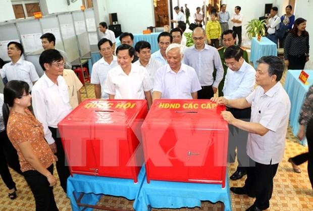 越南内务部副部长陈英俊:换届选举准备工作确保安全、民主和节约 hinh anh 1