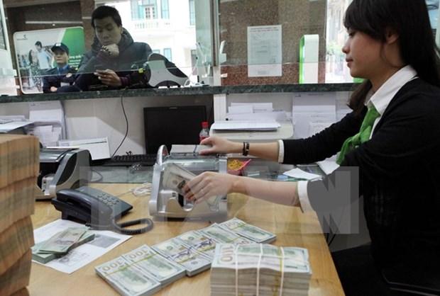 越南国家银行越盾兑美元中心汇率较前一日上涨7越盾 hinh anh 1