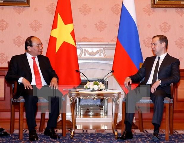 阮春福总理俄罗斯之旅为促进越俄全面战略伙伴关系发展注入新动力 hinh anh 2