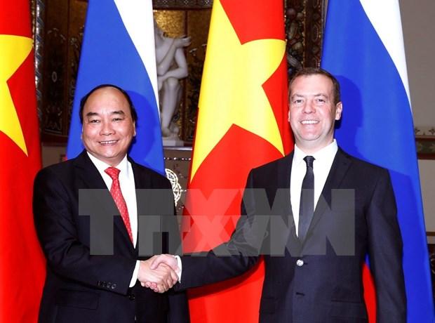 阮春福总理俄罗斯之旅为促进越俄全面战略伙伴关系发展注入新动力 hinh anh 1