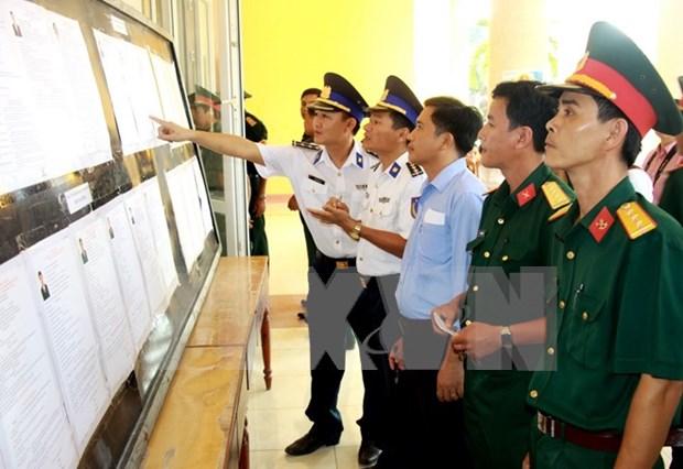 越南选举日临近:全国各地选举准备工作已就绪 hinh anh 1