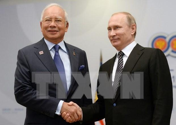 俄总统普京与东盟各成员国领导人举行双边会晤 hinh anh 1