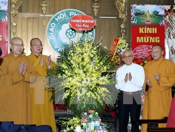 佛历2560年佛诞节活动在越南各地举行 hinh anh 1
