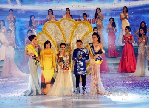 范垂庄成为2016年越南海洋小姐 hinh anh 1