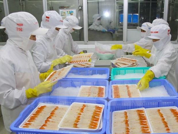 今年年初至5月15日越南实现贸易顺差额12.32亿美元 hinh anh 1