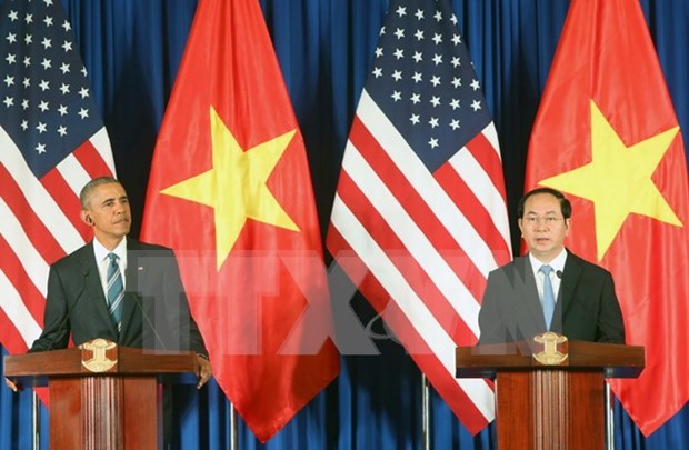 法国媒体纷纷报道美国总统奥巴马对越南的历史性访问 hinh anh 1