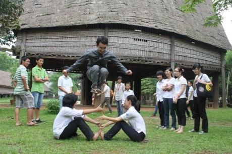 一起玩东南亚各国的民间游戏活动即将在河内举行 hinh anh 1