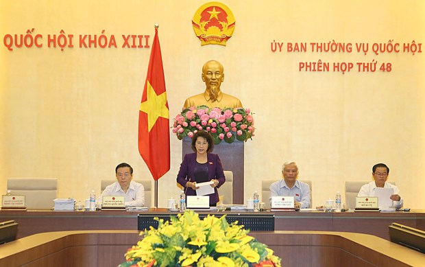 越南第十三届国会常委会第四十八次会议在河内召开 hinh anh 1