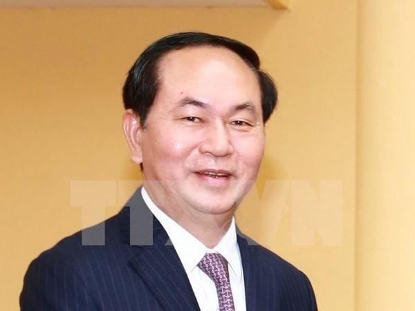 国家主席陈大光:越南高度评价俄罗斯在亚太地区日益重要的作用 hinh anh 1