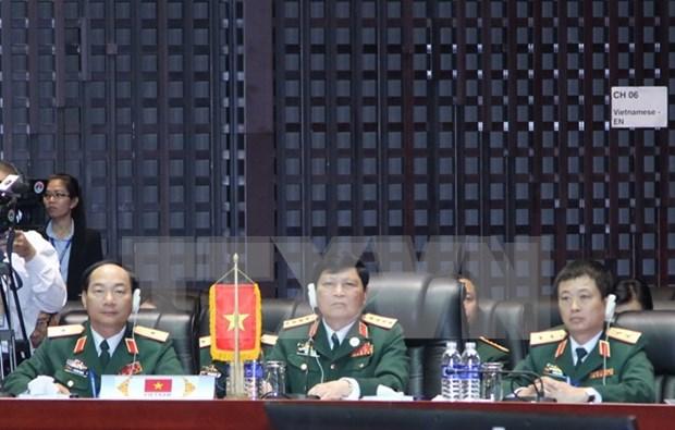 第十届东盟国防部长会议在老挝首都万象开幕 hinh anh 1