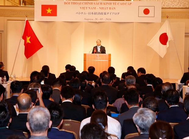 越南政府总理阮春福出席越南日本经济政策对话 hinh anh 1