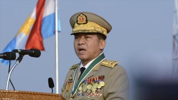 泰国和缅甸加强防务合作 hinh anh 1