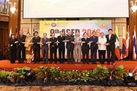 第九届东盟教育部长会议:致力缩小东盟与世界教育发展差距 hinh anh 1