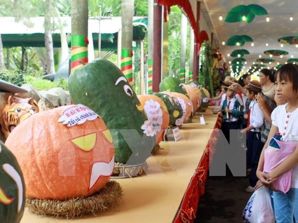 2016年南部水果节举行在即 南部21个省市的1000多家果园参加 hinh anh 1
