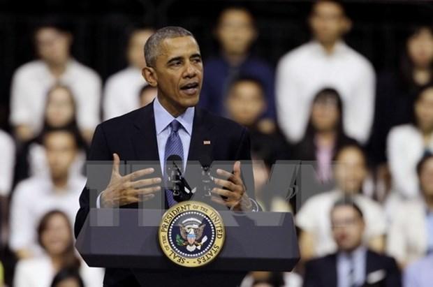 美国总统奥巴马与东南亚青年领袖倡议800多名成员进行交流 hinh anh 1