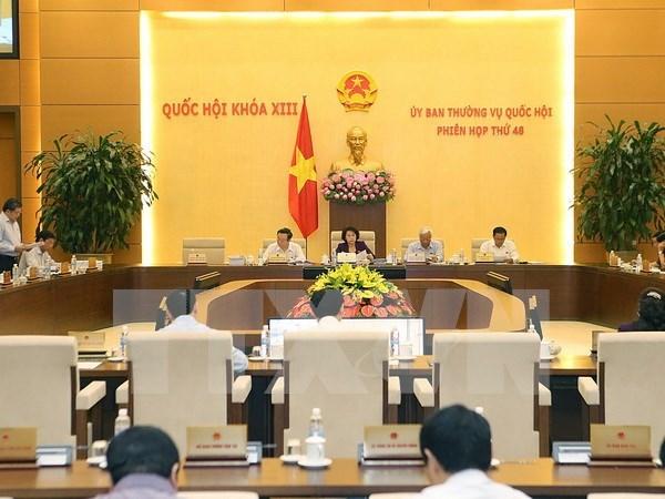 越南第十三届国会常务委员会第48次会议发表公报 hinh anh 1