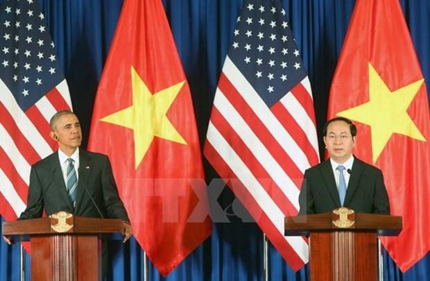 越南与美国承诺面向未来 hinh anh 1