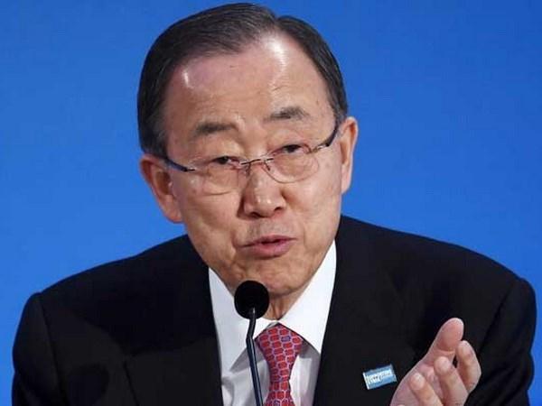 联合国秘书长潘基文呼吁亚洲各国以和平方式解决领土争端 hinh anh 1
