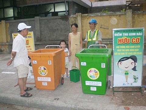 日本企业拟在越南投资建设废弃物处理厂 hinh anh 1