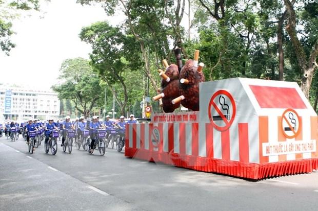 越南国家无烟周正式启动 hinh anh 1