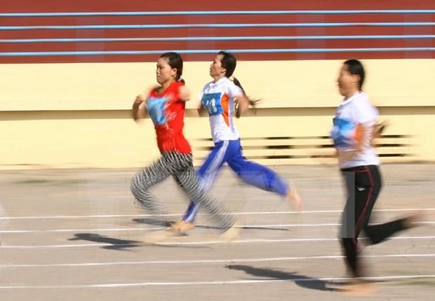 2016年越南全国残疾人体育锦标赛将吸引1000多名运动员参赛 hinh anh 1