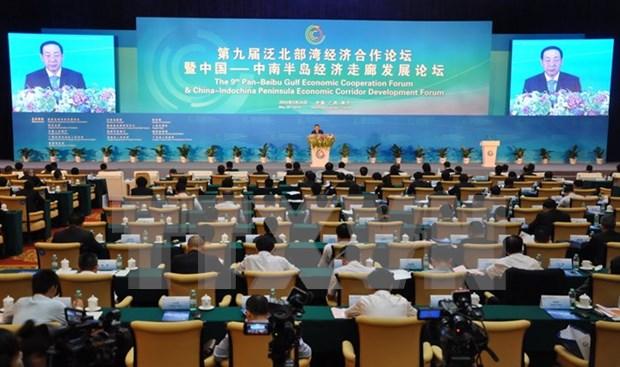 第九届泛北部湾经济合作论坛在广西南宁市举行 hinh anh 1