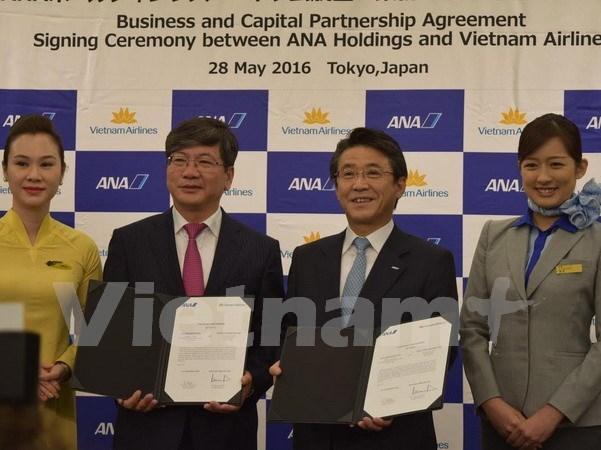 越航与日本ANA Holdings签署股份收购协议 hinh anh 1