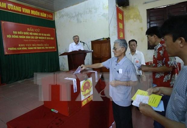 清化省新一届国会和省级人民议会代表换届选举结果对外公布 hinh anh 1