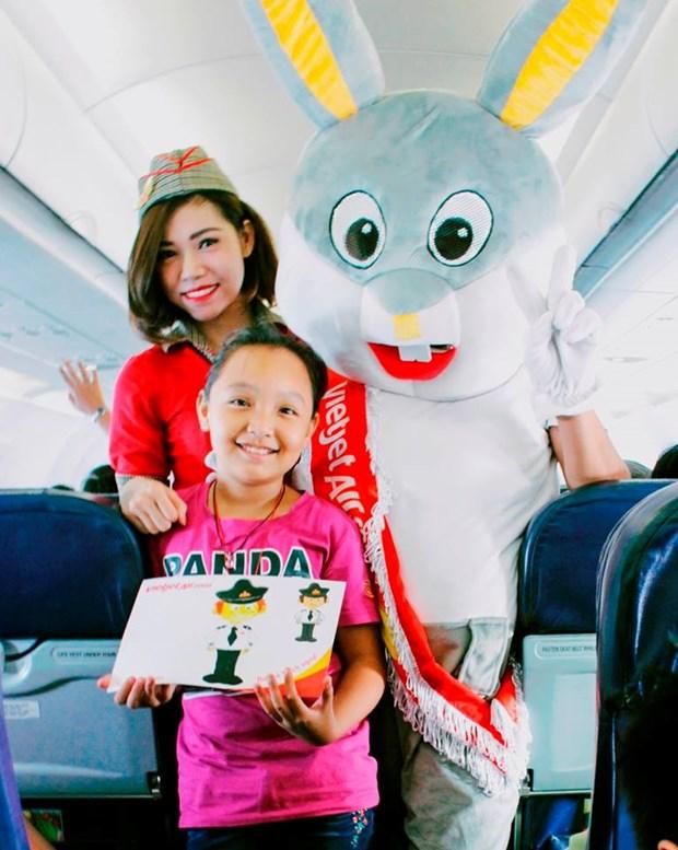 6.1国际儿童节:越捷航空公司将推出诸多娱乐活动 hinh anh 1