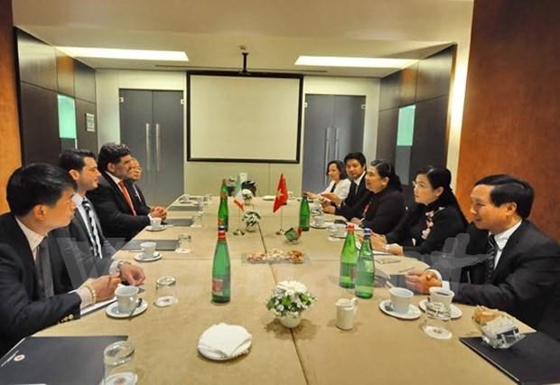 越南共产党与意大利共产党加强合作 hinh anh 1