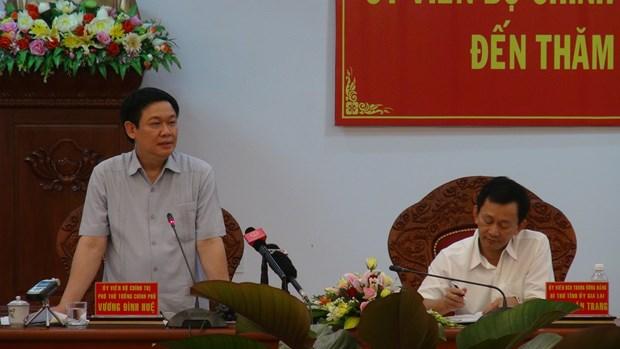 越南政府副总理王廷惠在嘉莱省调研 hinh anh 1