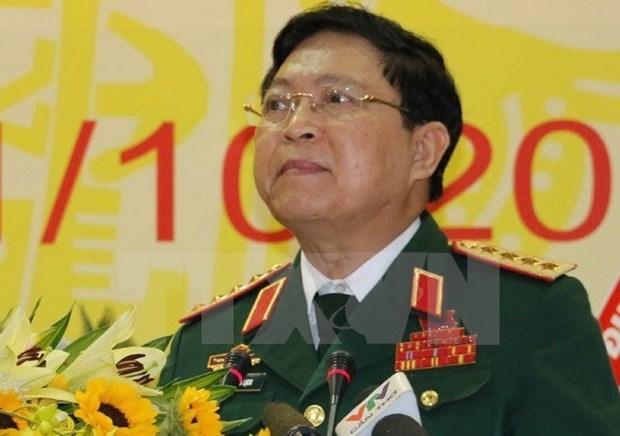 越南国防部长吴春历对柬埔寨进行正式友好访问 hinh anh 1
