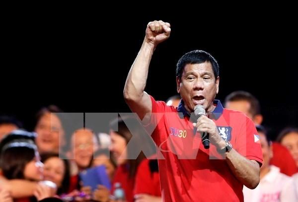 菲律宾国会宣布罗德里戈·杜特尔特为新一届总统 hinh anh 1