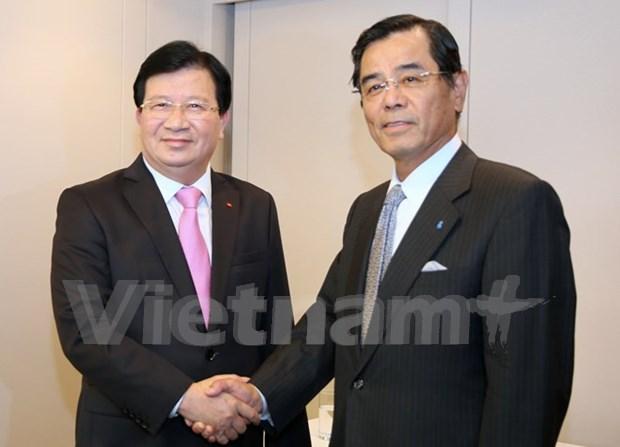 政府副总理郑廷勇:越南为日本企业在越投资取得成功创造便利条件 hinh anh 1
