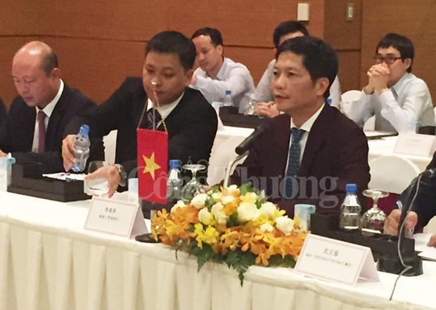 越南工商部和中国国家质量监督检验检疫总局加强合作 hinh anh 1