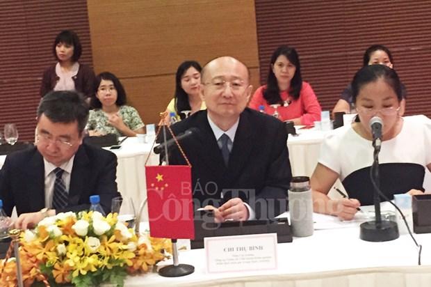 越南工商部和中国国家质量监督检验检疫总局加强合作 hinh anh 2