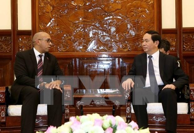 国家主席陈大光会见古巴和欧盟驻越大使 hinh anh 1