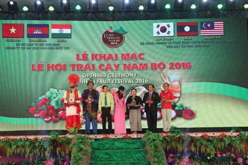 2016年第12届越南南部水果节开幕 hinh anh 1