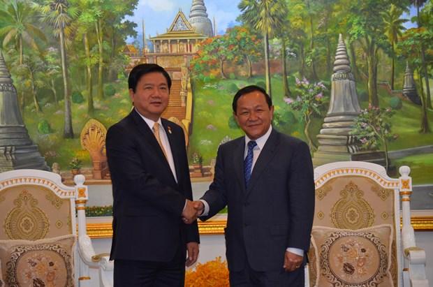越南胡志明市与柬埔寨首都金边加强合作关系 hinh anh 1