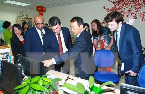 越南通讯社与土耳其阿纳多卢通讯社签署合作协议 hinh anh 1