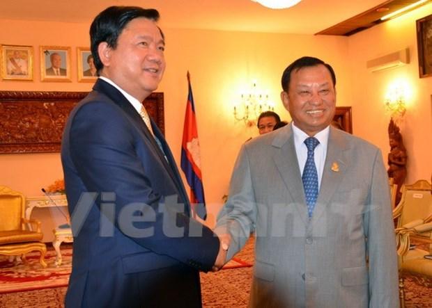 越南胡志明市与柬埔寨首都金边加强合作关系 hinh anh 2