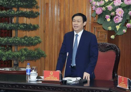 王廷惠副总理:企业是引领经济发展的先锋力量 hinh anh 1