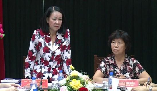 张氏梅部长:老年人身处何境都在国家发展事业中发挥好自己的重要作用 hinh anh 1