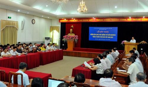 越南举行集会响应世界环境日和越南海洋与岛屿周 hinh anh 1