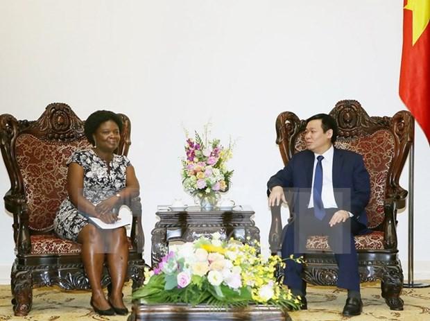 越南希望世行继续提供更多帮助和支持 hinh anh 1