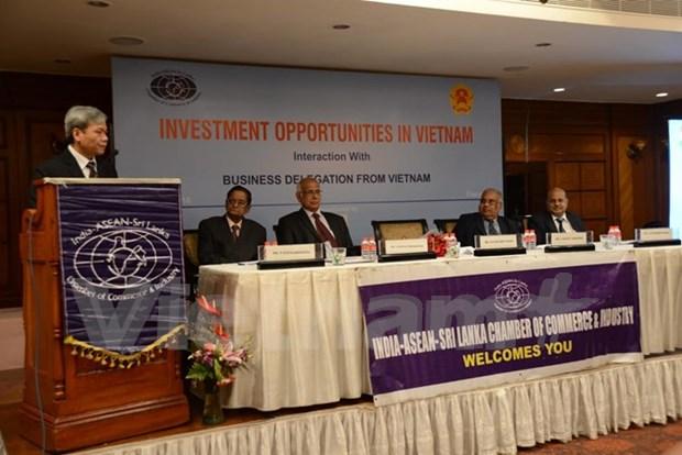 越南在印度金奈市举行促进投资活动 hinh anh 1