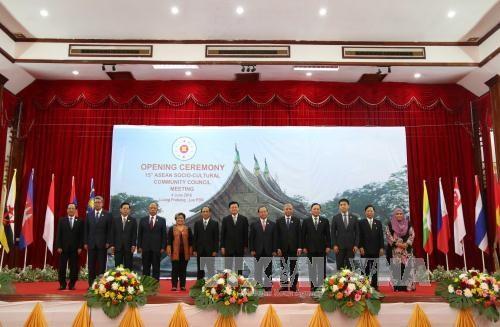 第15届东盟社会文化共同体理事会会议在老挝开幕 hinh anh 1