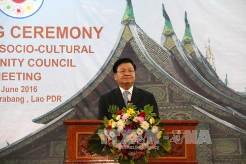 第15届东盟社会文化共同体理事会会议在老挝开幕 hinh anh 2