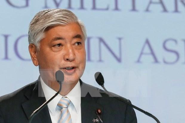 日本防卫大臣中谷元:没有任何国家在东海问题上是局外人 hinh anh 1